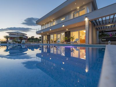 Photo for Luxury 5 Star Villa With Heated Pool, Jacuzzi and Sauna - Adriatic Luxury Villas
