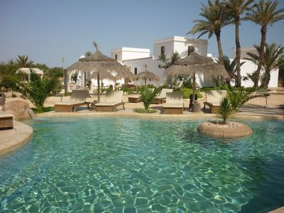 Photo for Typical villa with large swimming pool not overlooked - sleeps 14