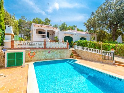 Photo for Villa Can Joan: Large Private Pool, Walk to Beach, A/C, WiFi