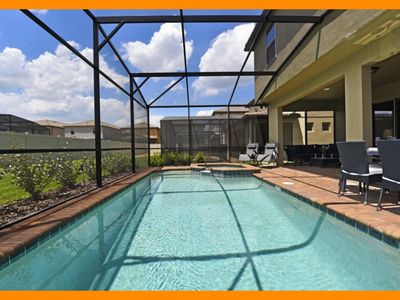 Photo for Windsor at Westside 86 - Modern villa with private screened pool - near Disney