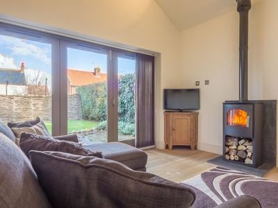 Photo for Contemporary bolt hole in Brancaster Staithe, providing open plan living space