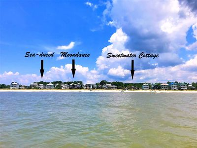 Sweewater Cottage has great Gulf views & is only 100 steps to the gorgeous beach