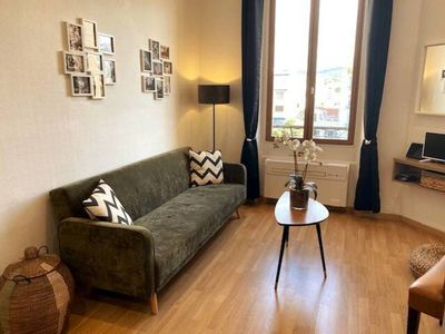 Photo for Superb 2 rooms 2 minutes walk from the Palais des Festivals and the Croisette