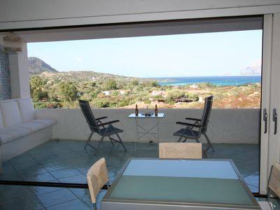 Photo for Luxurious and nice apartment 120m2, with magnificent views and direct access to the sea.