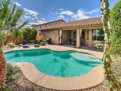 Photo for Surprise Home w/ Heated Pool, Gas Grill & Patio!