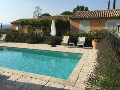 Photo for Country cottage with swimming pool, for 8 people, fully equipped