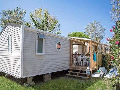 Photo for Camping Le Soleil Bleu by Nai'a **** - Mobile Home AKOYA 3 Rooms 4/6 People