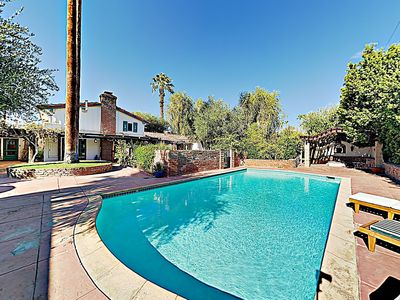 Photo for Classic Home w/ Stylish Upgrades, Pool & Firepit — One Block to Downtown!