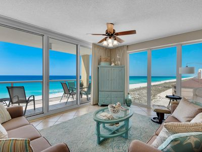Photo for * Sandy Bottoms * 3BR/3BA Gulf Front West End Unit *Beautiful* Caribbean Resort