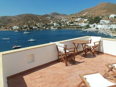 Photo for PATMOS HOUSES-Romantic Villa a few meters from the sea, breathtaking view