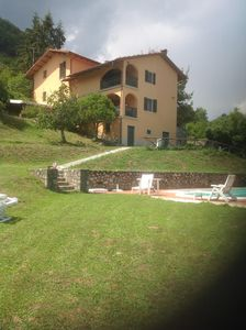 Photo for Tuscan Home with Panoramic View and Pool