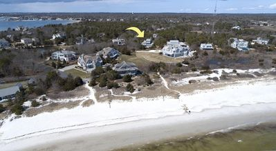 Photo for Exclusive Private Beach on Great Island!