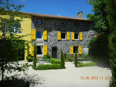 Photo for Rural house in the village 10 kms from PUY EN VELAY