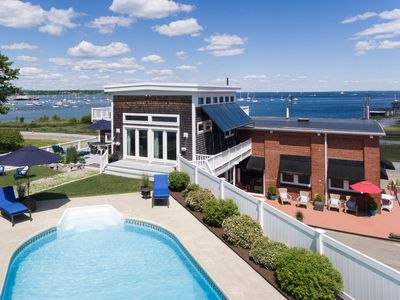 Photo for Mid Coast Maine Luxury Rental with Pool and Spectacular Ocean Views
