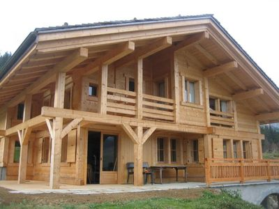 Photo for Traditional chalet **** Le Grand Bornand in a beautiful setting