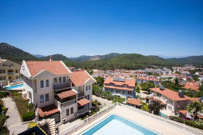 A duplex with an incredible pool in Oludeniz, Fethiye... Wait, there is more!