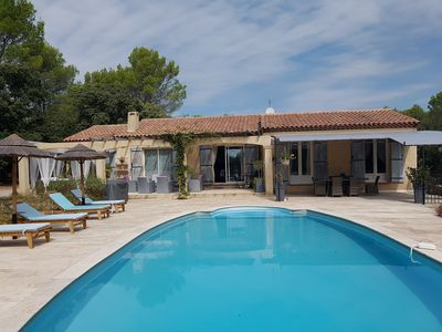 Photo for Villa, calm absolute, any comfort with swimming pool.