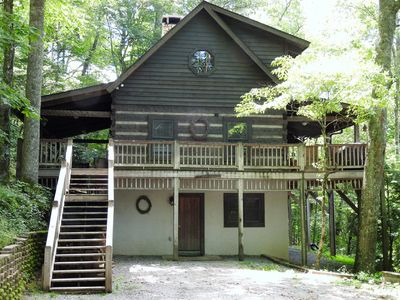 Photo for Maroon Bells 3 Bedroom 3 Bath Log Cabin in Valle Crucis NC