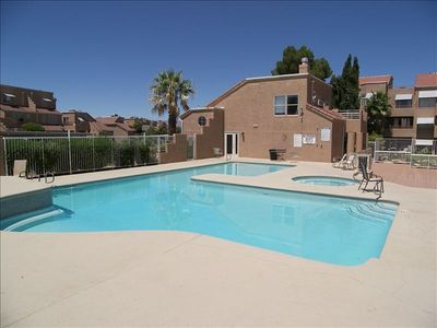 Photo for Gorgeous Poolside Condo!  Next to Waterfall/ Pond. Must See!!!