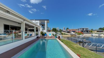 Photo for BELLE OF BROADBEACH- MODERN WATERFRONT HOUSE