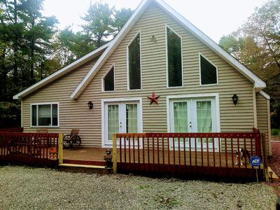 Photo for Beautiful Vacation home in Poconos. Summer fun!!! Pet Friendly
