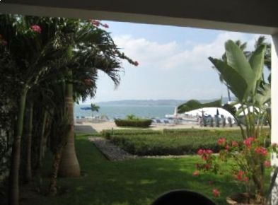 View from unit to the Pool & Ocean