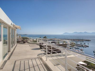 Photo for Le Romance - Duplex penthouse w stunning sea views & Spa