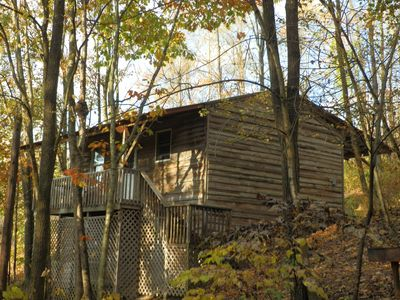 Photo for Affordable cabin near Raystown Lake, minutes from Seven Points & Allegrippas Tr