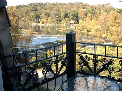 Photo for The charming French Chateau overlooks the beautiful falls of the Spring River