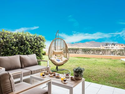 Photo for Lavender Villas III (incredible view 200m from the sandy beach of Ag. Marina)