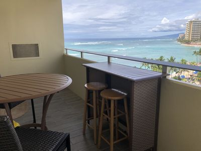 Photo for Waikiki Spacious One Bedroom Ocean View