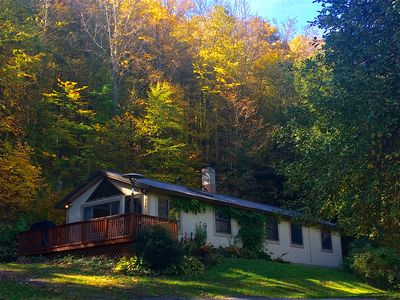 SERENITY CABIN - Tranquility close to Ski, Hiking, Swimming, Golf - Fire pit