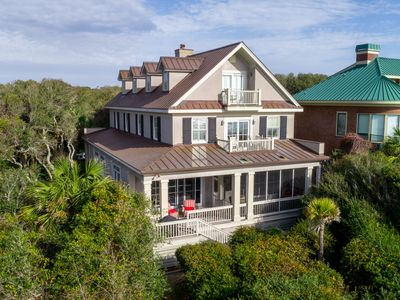 Photo for NEW LISTING! Sprawling oceanfront home on the beach