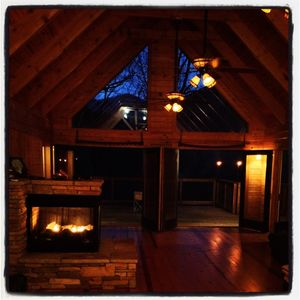 Photo for Gorgeous, Peaceful Cabin near Table Rock and Caesars Head State Parks.