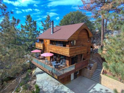 Photo for NEW LISTING Hide-A-Wild: Walk to Town, AMAZING VIEWS of Lily Rock  &Spa
