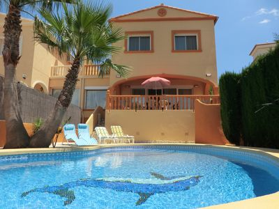Photo for TOP-Villa for families, AC, WiFi, safe pool for young children