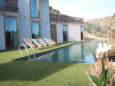 Photo for Fantastic Ecological Villa in the Colies of Zieschang for 12 people