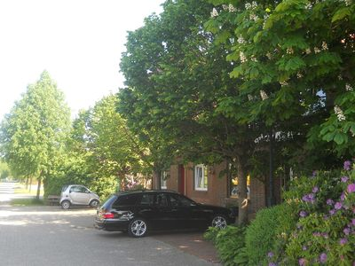 """Photo for """"Moor & Meer"""" comfort apartment with terrace, garden, wheelchair accessible, dog welcome"""