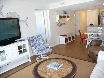 Photo for Pinnacle Port Vacation Rentals- C3 building, 2 bdr. 2bth. Ground Floor! Amazing gulf front views!