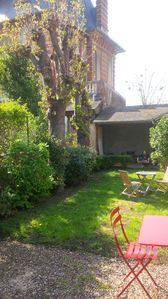 Photo for Charming house in Houlgate renovated full center with garden 150 m from the sea