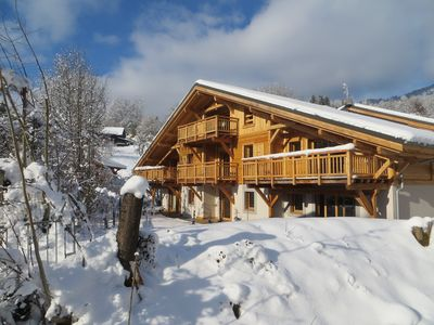 Photo for Two Bedroom Apartment In The Alps Perfect For Skiing And Cycling