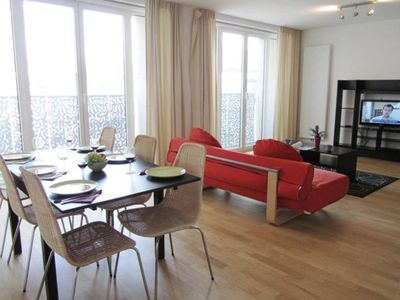 Photo for Spacious Opera 502 apartment in Brussels Centre with WiFi & lift.