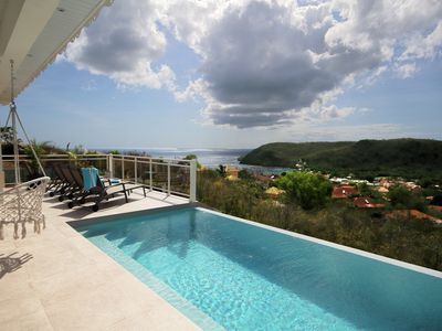 Photo for Villa with sea view and pool (MQAA16)