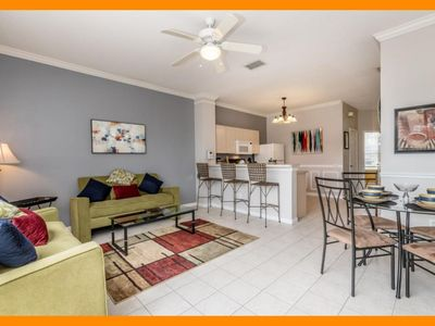 Photo for Windsor Palms Resort 22 - Townhouse with hot tub & communal pool near Disney