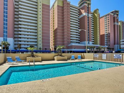 Photo for North Myrtle Beach Condo w/ Pool - Steps to Beach!