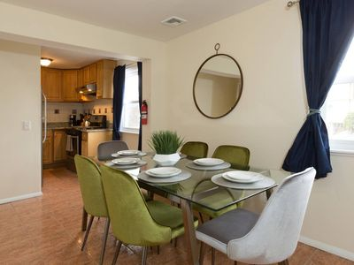 Photo for Great 5 BR/2 BA Townhouse- 1 stop to NYC!
