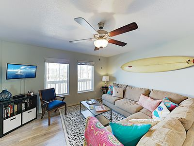 Photo for New Listing! Updated Condo w/ Pool - Walk 1 Block to Beach, Near Dining