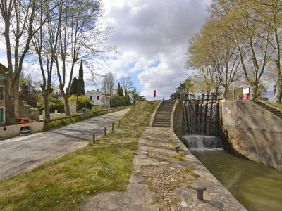 Photo for The Ecluse is a one bedroom apartment next to the Canal du Midi
