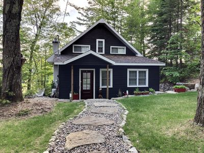 Photo for 4 Bedroom, fully renovated house perched on a hill on Rawdon Lake - Quebec
