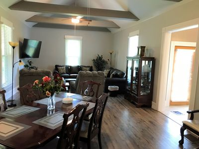 great room, kitchen on the right.